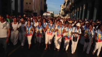 DAMAS DE BLANCO 8 sept La Habana