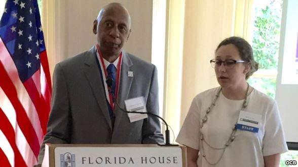 Cuban human rights activist receives 2015 Truman-Reagan Medal of Freedom