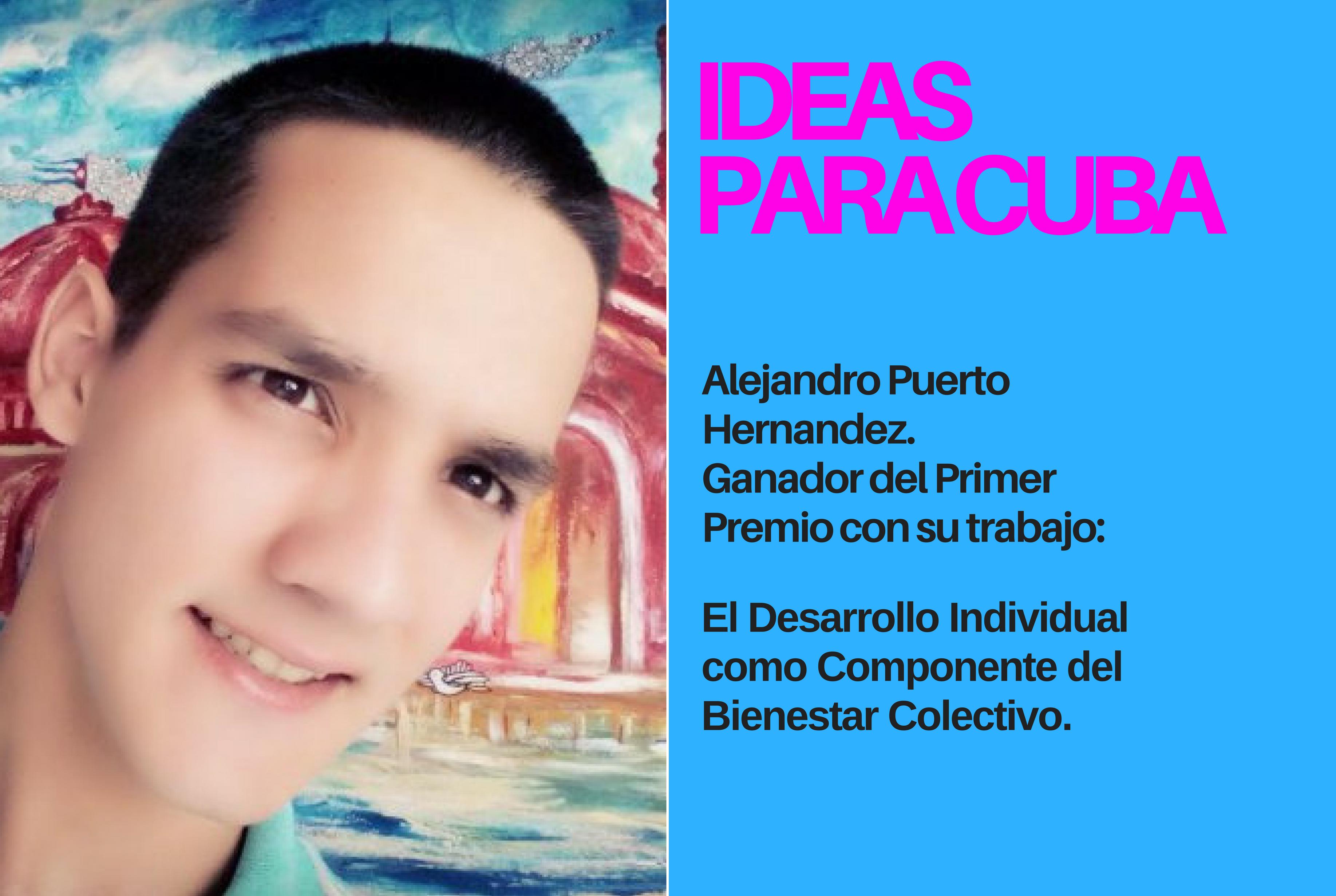 """ANUNCIO DE LOS GANADORES DEL CONCURSO """"IDEAS PARA CUBA"""""""