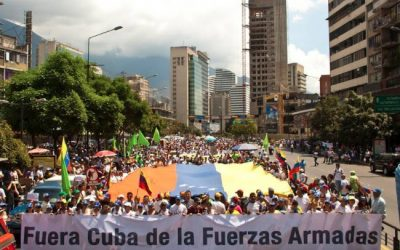 Castro, get out of Venezuela!