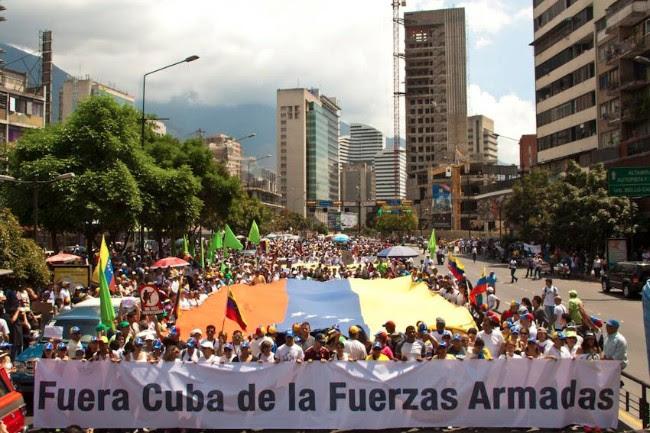 ¡Castro, fuera de Venezuela!