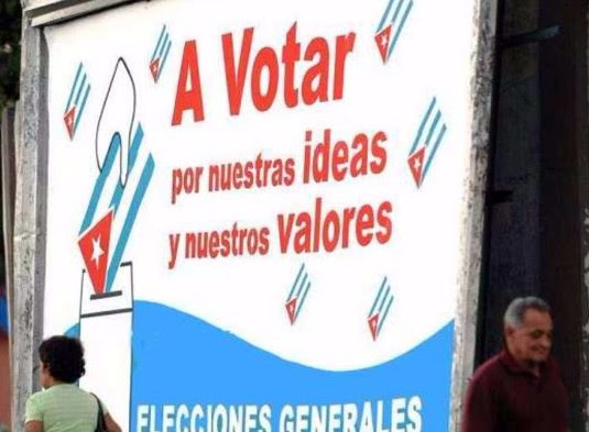 "FREE ELECTIONS IN CUBA?  NO. ""SOCIALIST SELECTIONS"""