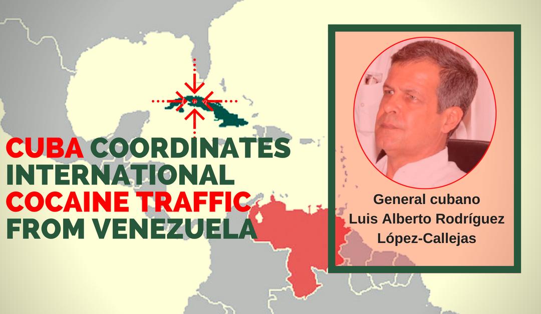 CUBA COORDINATES INTERNATIONAL COCAINE TRAFFIC FROM VENEZUELA