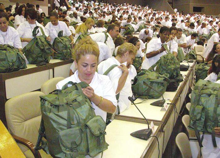 LOS COOPERANTES CUBANOS Y EL MIEDO-AMBIENTE