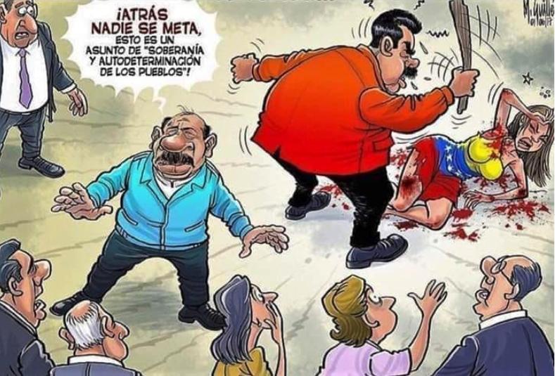 LOS CUBANOS Y SUS SOCIOS NARCOTRAFICANTES NO SE IRÁN DE VENEZUELA POR LAS BUENAS
