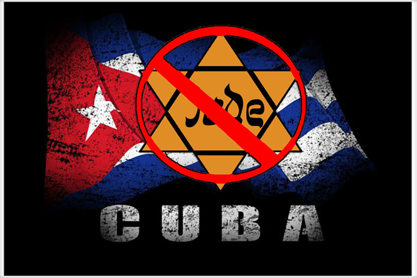 Hannukah without the kippah?  Cuban State endorses anti-Semitism and blames the victims