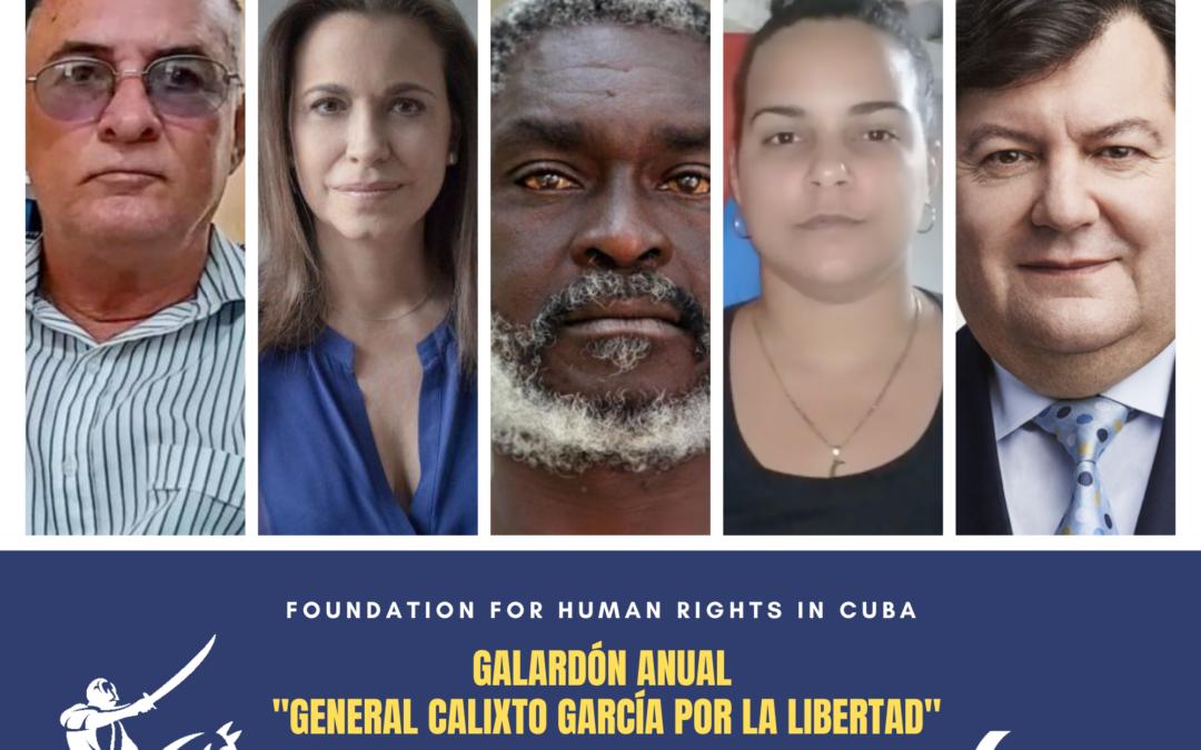GALARDÓN ANUAL «GENERAL CALIXTO GARCÍA POR LA LIBERTAD»
